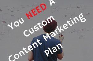 custom content marketing plan
