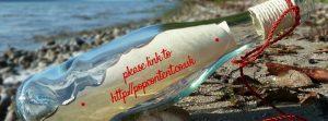 message in a bottle unusual backlinking technique seo