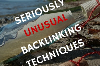 seriously unusual backlinking techniques seo cover