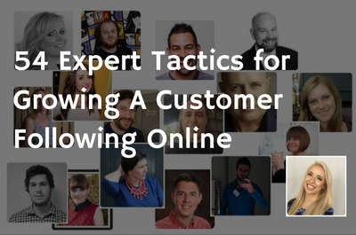 54 expert social media customer following