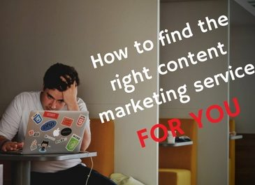 How to find the best content marketing services