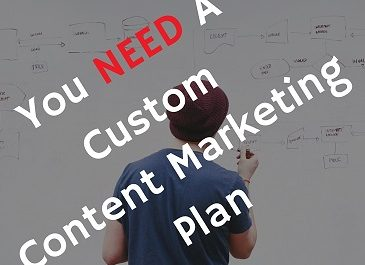 custom content marketing plan