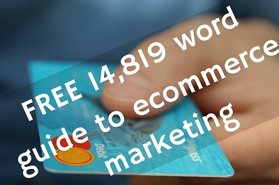Ecommerce marketing guide cover